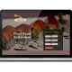 Bhuyans Food Villa, Food Restaurant website design by UJUDEBUG