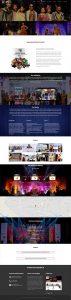 north east festival nef website design by UJUDEBUG