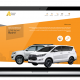 Assam Taxi website design, development by UJUDEBUG