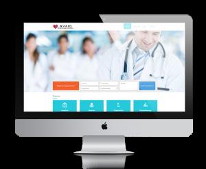 NVAID website design, development by UJUDEBUG
