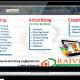 rajveer advertising website design, development by UJUDEBUG