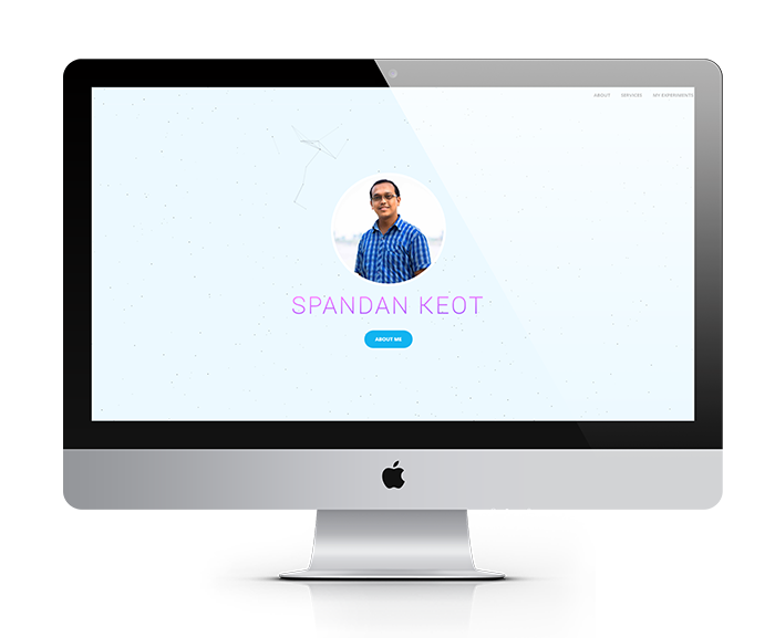 SPANDAN KEOT website design, development by UJUDEBUG