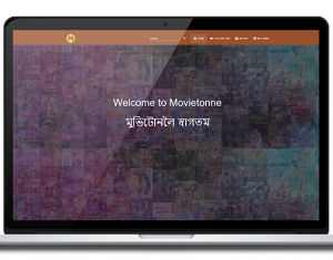 Movietonne website design, development by UJUDEBUG