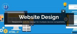 ujudebug website design