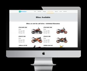 bharagaari webiste design