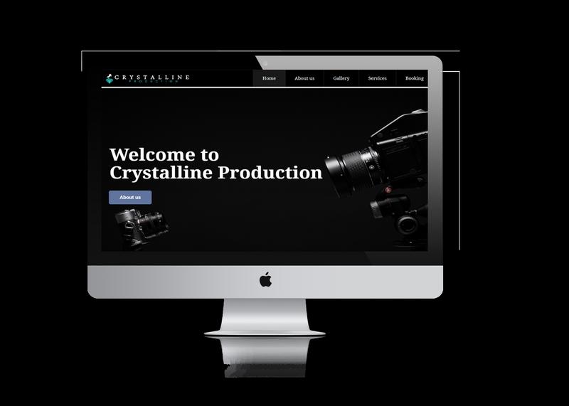 photography company website design ujudebug