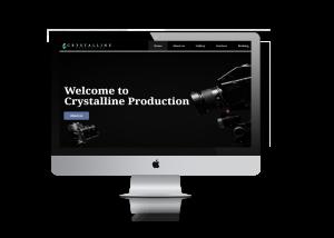 Production house website development