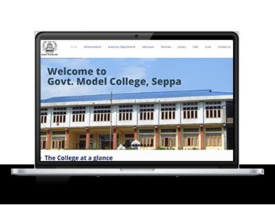 Govt College Website - Arunachal