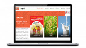 Kanyaka website - NGO website design