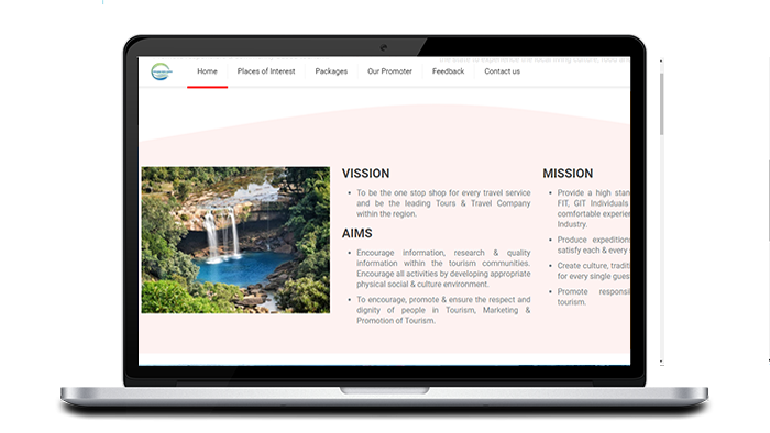 Tour and Travel agency website designing