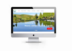MNJ Tours - Tour and Travel agency website
