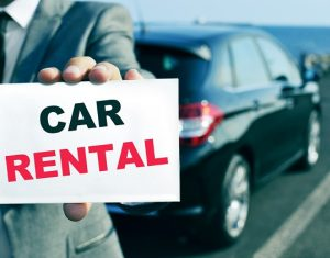Car rental website design
