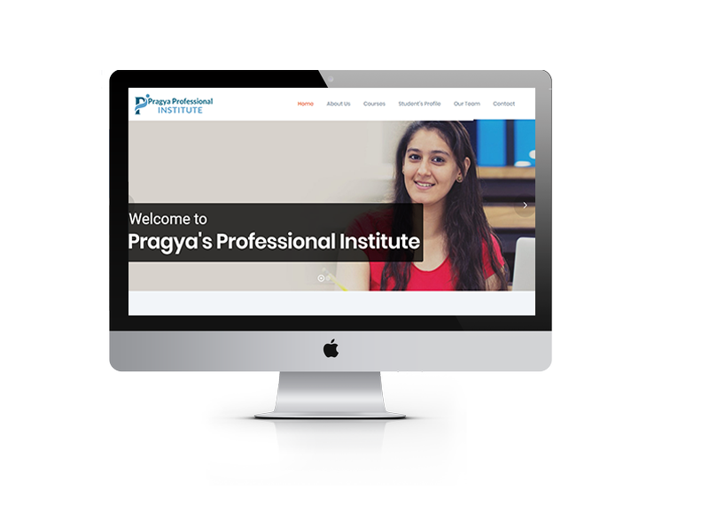 institute website design ujudebug