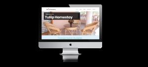 Hotel website design ujudebug