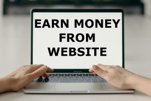 Earn money online from website ujudebug