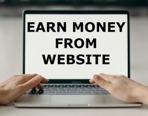 Earn money from website ujudebug