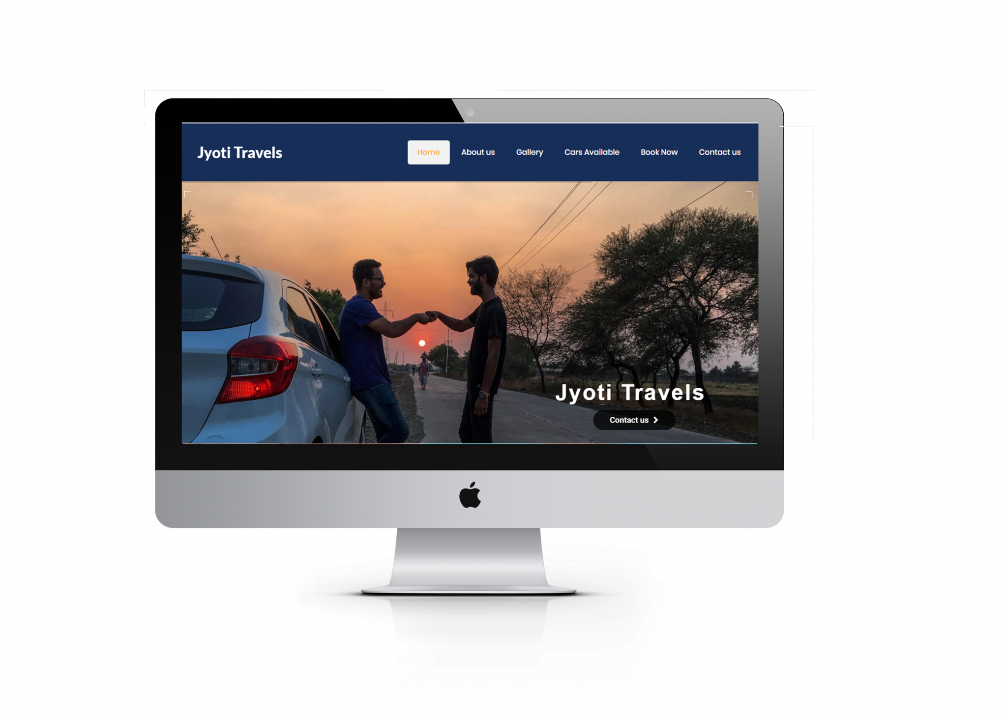 Car rental website design by ujudebug