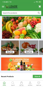 Grocery Delivery Application Digital Marketing