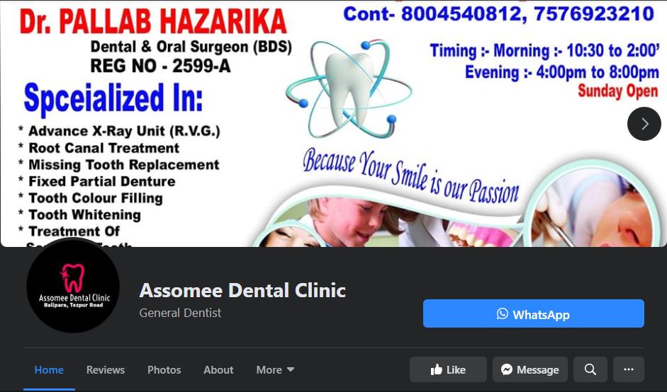 assomee dental social media marketing