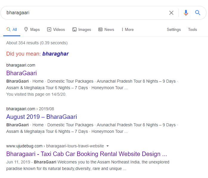 bharagaari search engine optimisation
