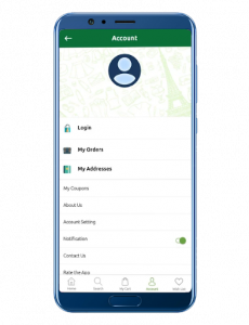 dailymart user interface