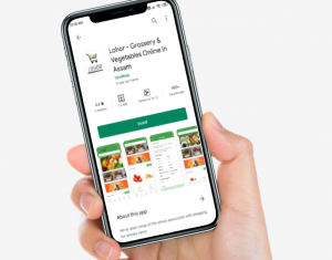 lohor grocery shopping app assam