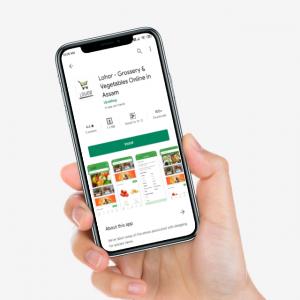 lohor grocery shopping app assam