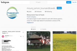 mounj jumon social media marketing campaign