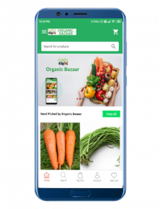 organicbazaar android app development