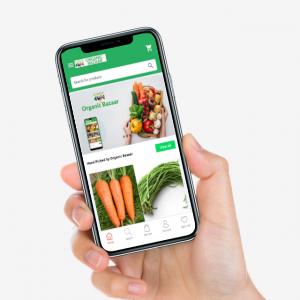 organicbazaar grocery delivery service guwahati