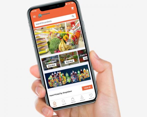 shop2door online grocery app guwahati