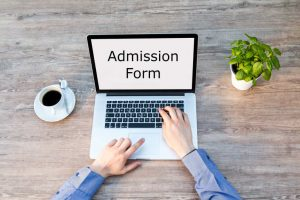 online admission for institute