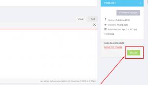 update content on website screenshot 5