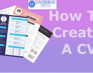 how to create cv