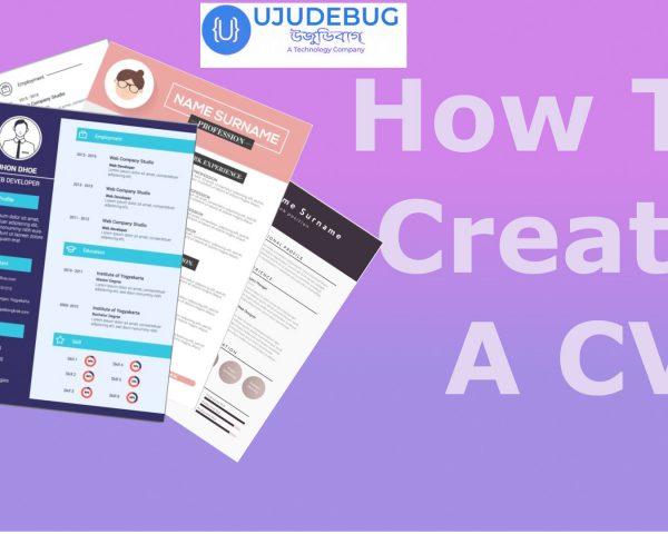 how to create cv
