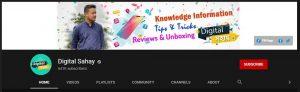Digital Sahay YouTube channel