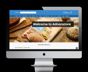 Adnanstore home page