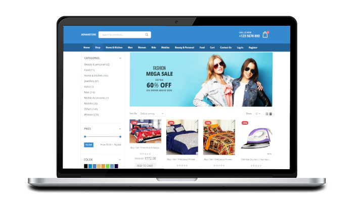 Adnanstore product page