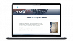 Choudhury Group of Institution About Us Page