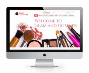 GLAM AND GLIMMER Home Page