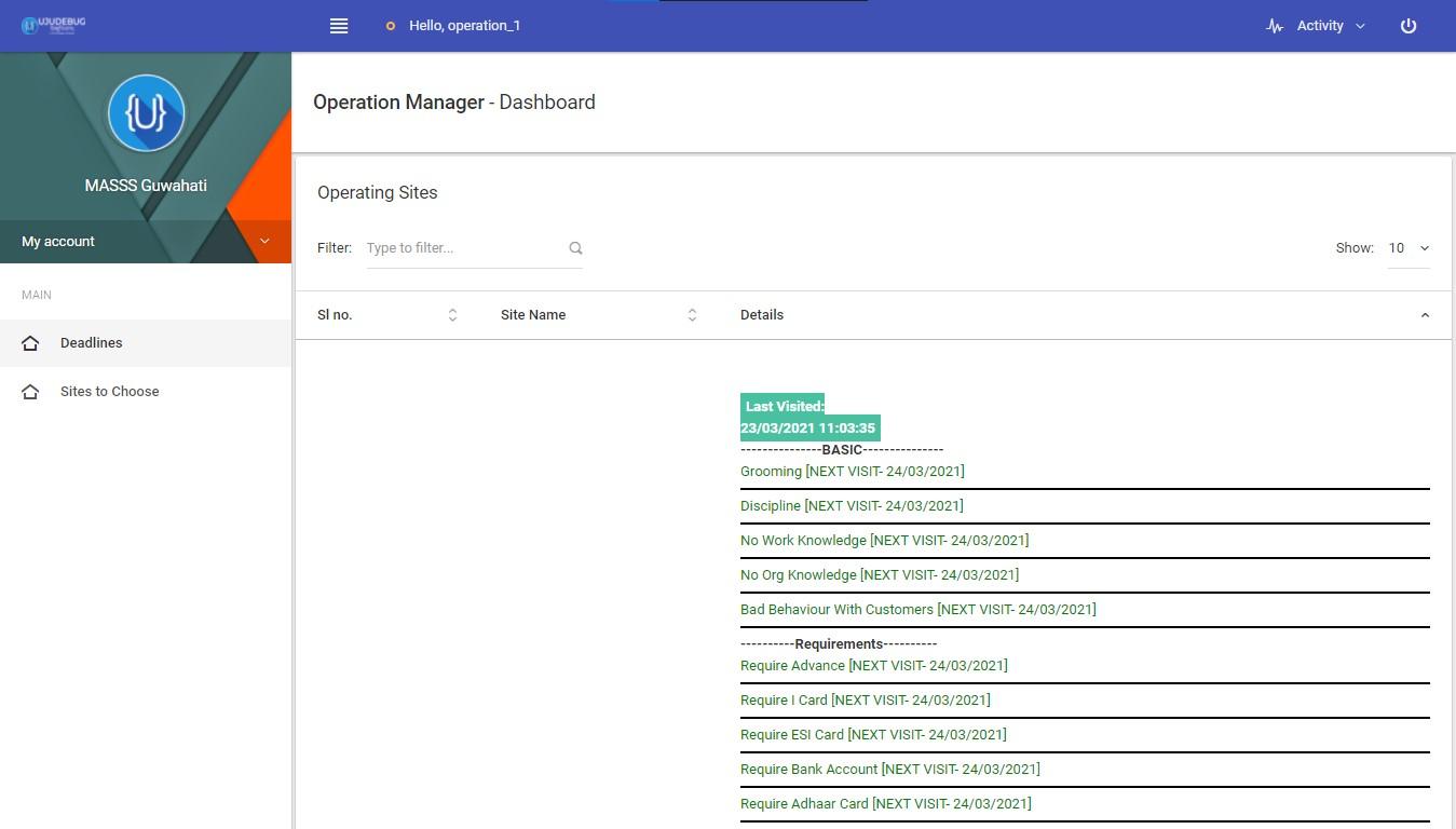 Masss India management software Screenshot 7