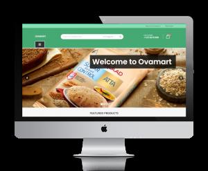 Ovamart Home Screen 1