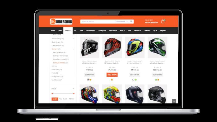 Ridershub Product page